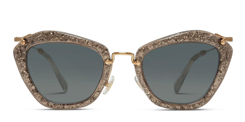 e90b59993ac Miu Miu SMU 10NS Noir Prescription Sunglasses