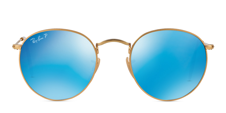 ray ban 3447 polarized blue