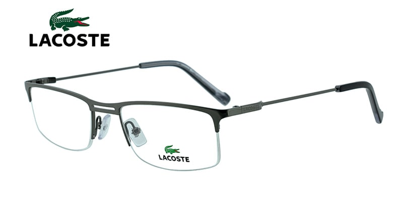6cd45f0307f Lacoste L2117 Gunmetal Prescription Eyeglasses From  154
