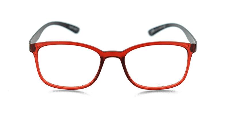 Large Square Tortoise SUPER DORK Clear Lens Glasses 182