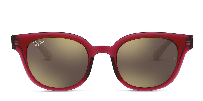 ray ban maroon sunglasses