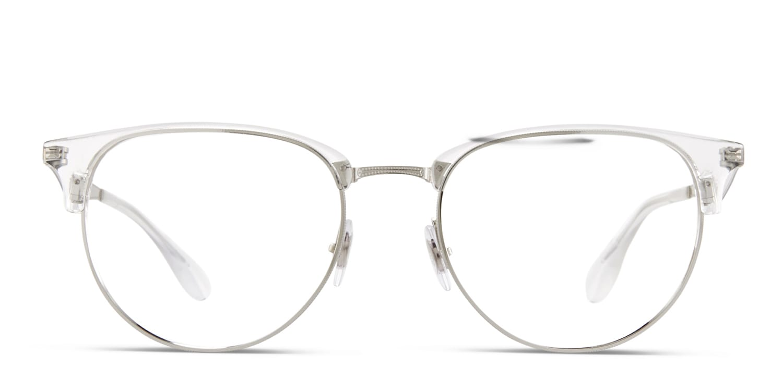 ray ban men's clear eyeglass frames