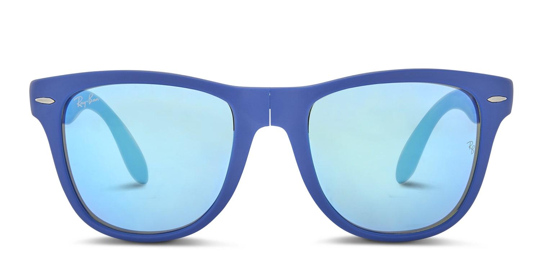 bcc4dc3408cd2 Ray-Ban 4105 Foldable Wayfarer Large Prescription Sunglasses