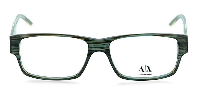 Armani Exchange AX145 Dark Green Prescription Eyeglasses ...