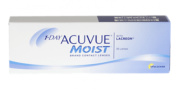 1-DAY ACUVUE MOIST, 30  Pack