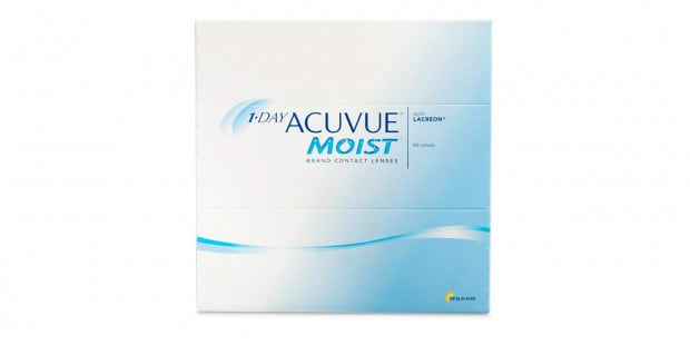 1-DAY ACUVUE MOIST, 90  Pack