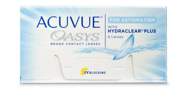 ACUVUE OASYS for ASTIGMATISM, 6 Pack