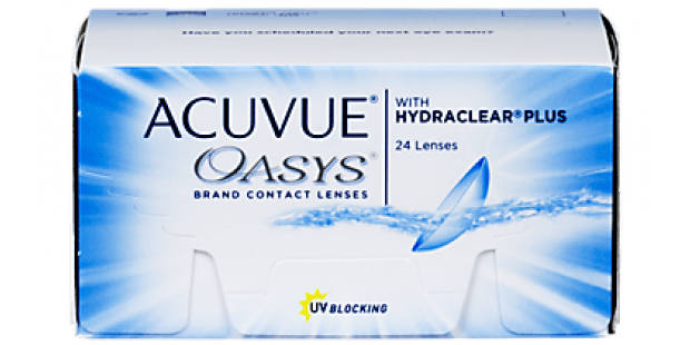 ACUVUE OASYS with HYDRACLEAR PLUS, 24  Pack