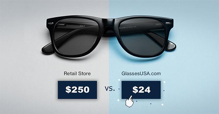 GlassesUSA: Up to 65% Off Eyeglasses