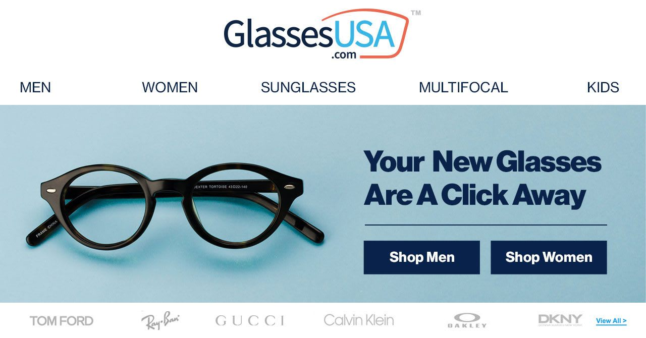 9fcec0b1150 Shop Calvin Klein s luxury eyeglasses on GlassesUSA