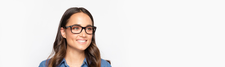 try eyeglasses online right