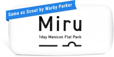 MIRU 1 day (same as Scout by Warby Parker)