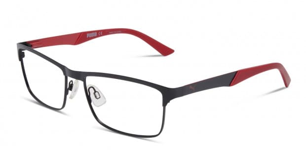 red puma glasses
