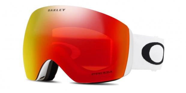 Oakley Oo7050 Flight Deck Snow Goggle Prizm Red White Sunglasses